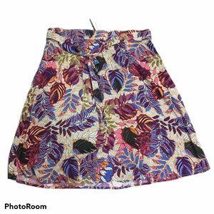 Westport print knee length skirt. Size 2X